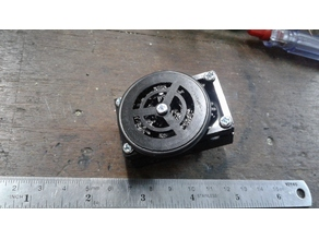 Planetary gearbox 1:232.5 for 130 motor