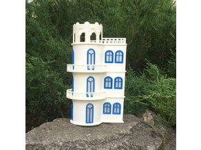 3D printed villa on the lake
