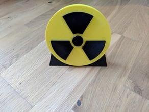 Badge Trisecteur (Nuclear badge) 150x19 mm
