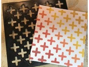 Stencil - Crosses!
