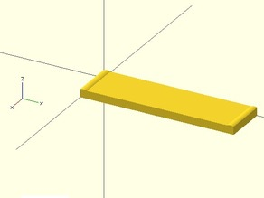 OpenSCAD Template for Quick-fit carriage compatibility