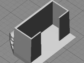 Foldable Brushed Microquad Camera Mount