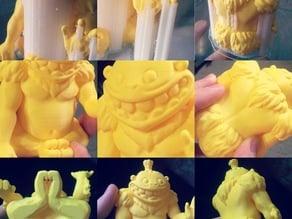 Gorilla Picaso 3D by SergeMAX (Vertex3D)
