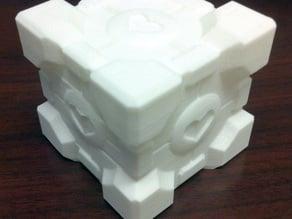 Extra Printable Companion Cube