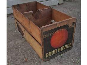 HO Scale Orange Crates