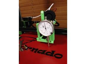 Dial Indicator Gauge/Laser/SN04 probe mount for the Petsfang on a Tornado/ CR10/ Ender2or3/Michelangelo and more