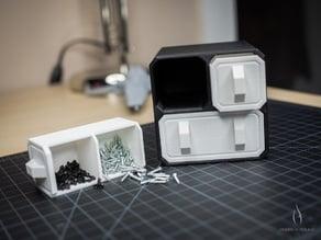SciFi Small Part Storage Crates