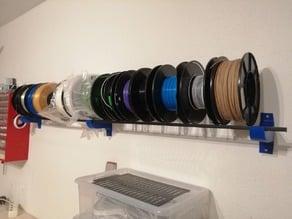 Filament Spool Wall mount