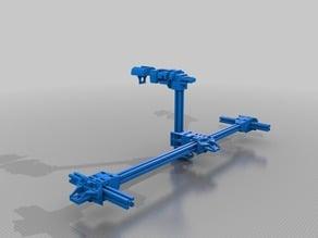 Hybrid 3D Printer CNC Aluminium Extrusion 3030