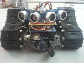 TOM Tri-Track dual servo robot tank chassis