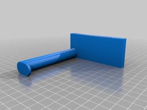 Customized Makerbot Mini Spool Holder - 15mm diameter