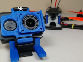 Yi camera mount for Martian and ZMR frames