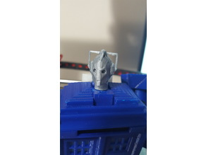 Cyberman Head for Tardis Transformer V2