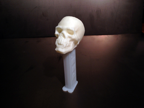Skull with Pointy Teeth PEZ Dispenser Topper