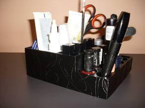 Makeup / manicure organizer