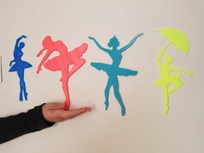 classical dancer figurine