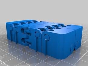 actually printable Kobayashi Fidget Cube - Fat Hinge - Flat