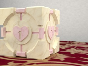 Companion Cube Dice