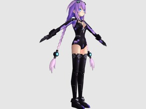 Hyperdimension Neptunia Purple Heart