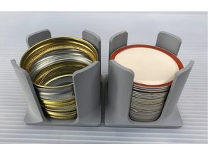 Canning Jar Lid Stackers