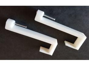 Curtain Rod Hook (glue and screwless)