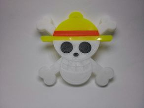 Llavero ONE PIECE Jolly Roger Mugiwara No Luffy