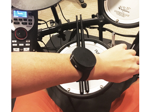 Wearable smart metronome powered by haptic motor