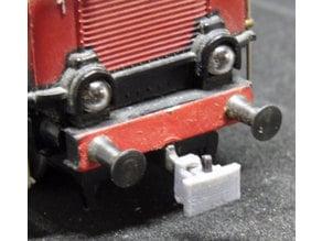 Bumper Plate for Märklin-Hook-coupler