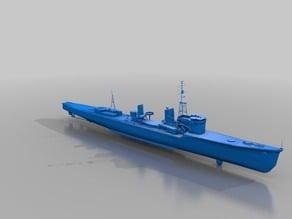 Warship - Harakaze (1/10)