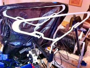 TentRbot - PrintRbot plastic hanger tent attachment