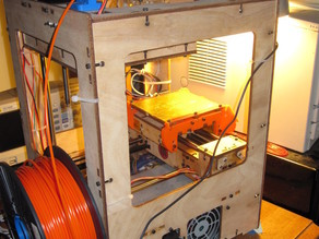 Thing-o-Matic Mountable Filament Guide
