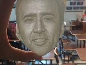 Nicolas Cage Lithophane