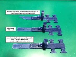 Paint Shaker Attachment - Cuisinart Electric Knife Model # CEK-40 CEK-40C r2 Beta