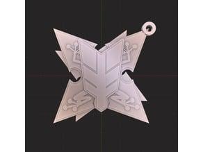 Hanzō National Academy Keychain