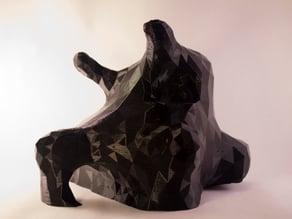 Terrarium rock
