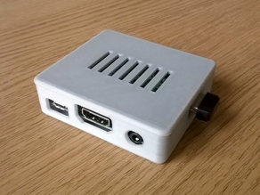 Adafruit's Raspberry Pi A+ Case with less holes