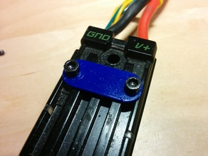 Encoder port cover for Talon SRX