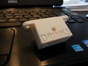"""Support"" Cocktail Shot Dispenser Bottle Tool"