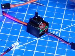 DDW RC MG995 Servo ESC Switch Case