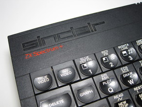 Sinclair ZX Spectrum+  improved ribbon cable clips for membrane keyboard