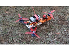 Tricopter FPV drone - Ufezela
