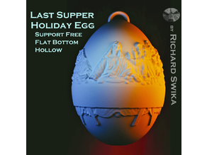 Last Supper Holiday Egg