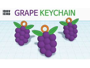 [1DAY_1CAD] GRAPE KEYCHAIN