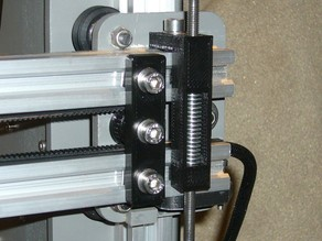 MakerFarm i3v x-idler bracket plate