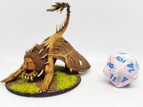 Manticore for 28mm Tabletop Roleplaying
