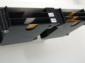 stackable under cabinet boxes for envelopes, stamps, etc.