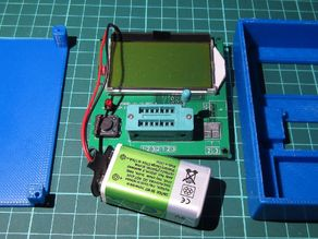 Mega328 Electronic Tester case