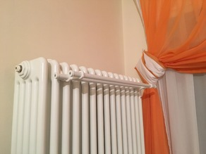 Clothesline for radiators