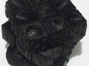 Rubik's Cube Tiles For The Blind (Lesson plan inside)