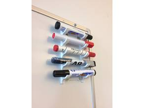 Whiteboard Marker Holder (Magnet Attachment)